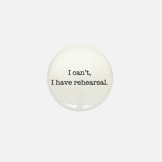 Cute Rehearsal Mini Button (10 pack)