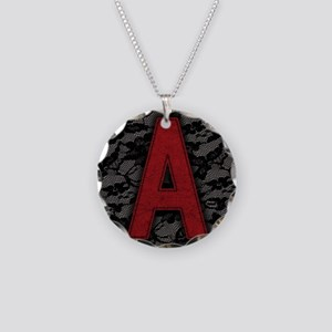 scarlet-a_9x12 Necklace Circle Charm