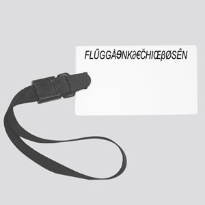 Euro Safeword Trip Large Luggage Tag