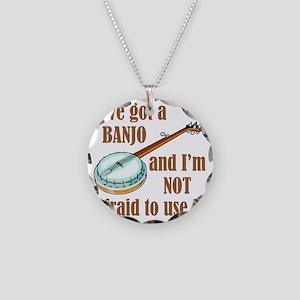 iveGotBanjo Necklace Circle Charm