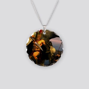 Spartans-11x11 Necklace Circle Charm