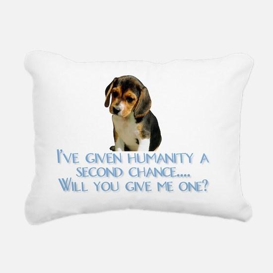 SecondChance Rectangular Canvas Pillow