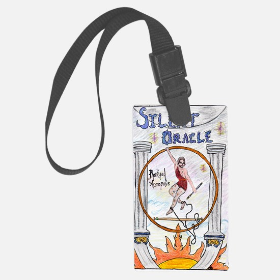 SilentOracleFrontCover Luggage Tag