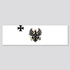 Prussian War Flag - Flagge Preußens Bumper Sticker