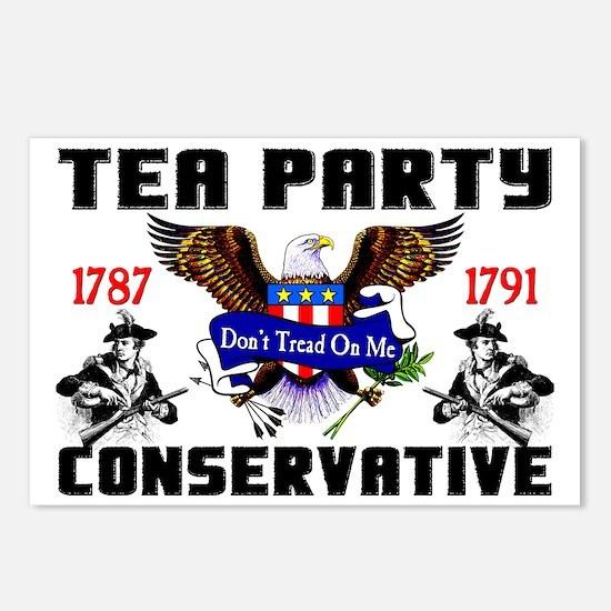 tea partyfinal Postcards (Package of 8)