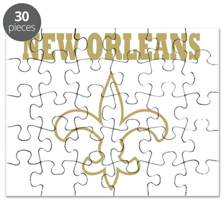 New Orleans gold Puzzle