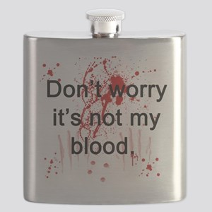 Not my blood  Flask