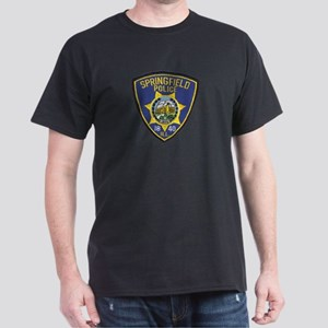 Springfield Police Dark T-Shirt