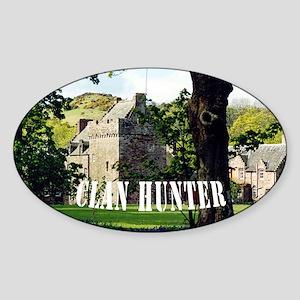 5x3oval Clan Hunter car sticker Sticker (Oval)
