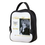 Focusguitarcroped8x8 Neoprene Lunch Bag