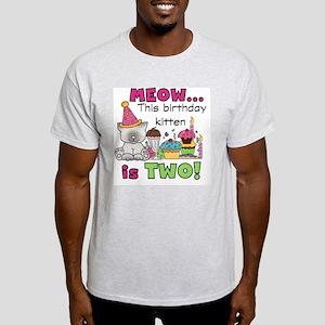 zxmeowbdayTWO Light T-Shirt