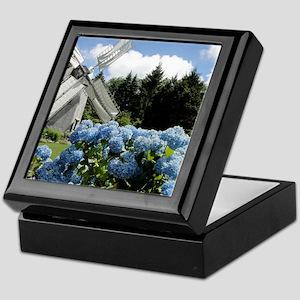 Windmill Garden Keepsake Box