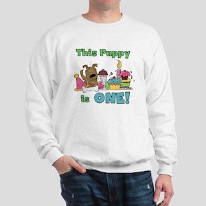 First Puppy Birthday Sweatshirt