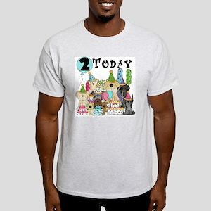 Dogs 2nd Birthday Light T-Shirt