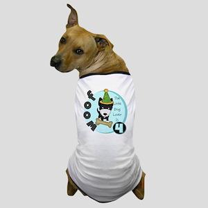 Dog Lover 4th Birthday Dog T-Shirt