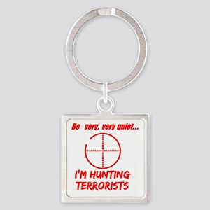 hunting terrorists 2 dark Square Keychain