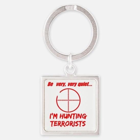 hunting terrorists 2 dark Square Keychain