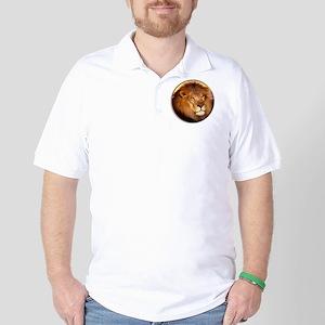 yule lion Golf Shirt