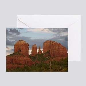 Cathedral Rock, Sedona, AZ Greeting Card