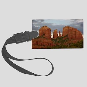 Cathedral Rock, Sedona, AZ Large Luggage Tag