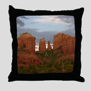 Cathedral Rock, Sedona, AZ Throw Pillow