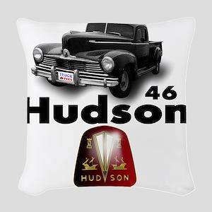 Hudson2 Woven Throw Pillow
