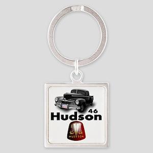 Hudson2 Square Keychain