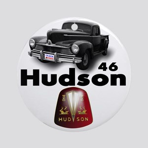 Hudson2 Round Ornament