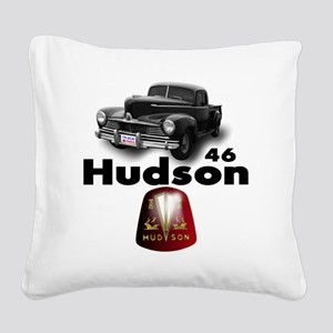 Hudson2 Square Canvas Pillow