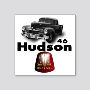 "Hudson2 Square Sticker 3"" x 3"""