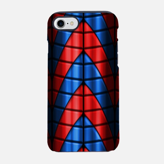 Superheroes - Red and Blue iPhone 7 Tough Case