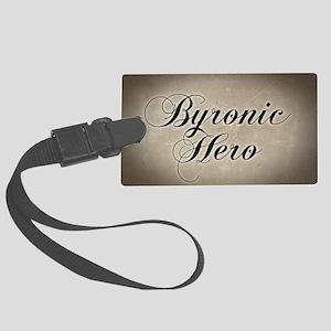 byronic-hero_12x18 Large Luggage Tag