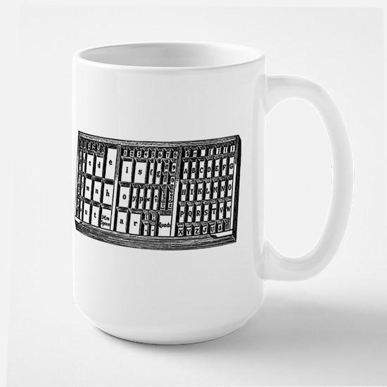 CA Job Case Large Mug