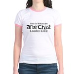 Anarchist Jr. Ringer T-Shirt