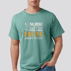 Nurse By Day And Mom By Night T Shirt T-Shirt
