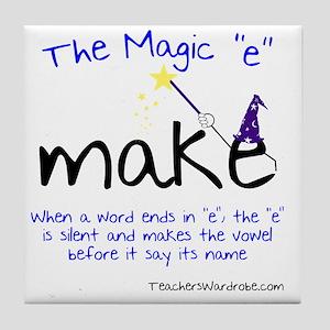 The Magic E Tile Coaster
