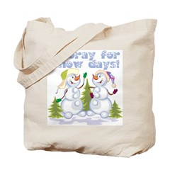 Hooray For Snow Days Tote Bag
