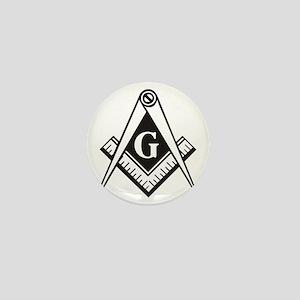 Masonic Emblem Mini Button