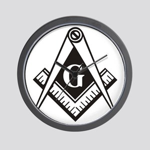 Masonic Emblem Wall Clock
