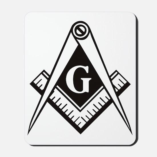 Masonic Emblem Mousepad