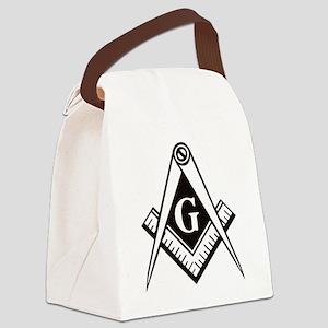 Masonic Emblem Canvas Lunch Bag