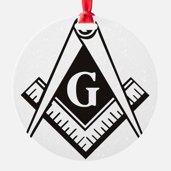 Masonic Emblem Ornament