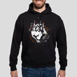 Wolf Shirt 2 Hoodie (dark)