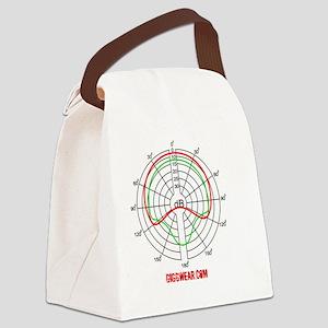 polar_pattern_tmug Canvas Lunch Bag