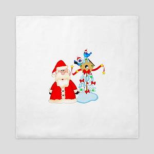 Christmas Santa Queen Duvet