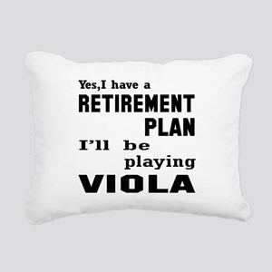 Yes, I have a Retirement Rectangular Canvas Pillow