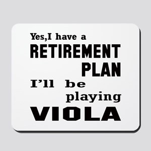 Yes, I have a Retirement plan I'll be pl Mousepad