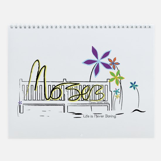 Cute Moses Wall Calendar