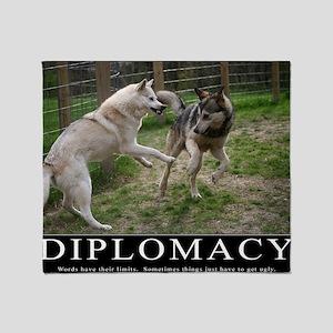 Diplomacy Throw Blanket