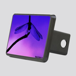 evening dragonfly copy Rectangular Hitch Cover